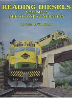 READING DIESELS: Vol. 2 – The Second Generation (1962-1976) -- NEW BOOK