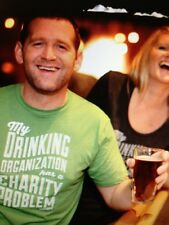 the Chive *Authentic* My Drinking Organization Has A Charity Problem S M L XL 2X