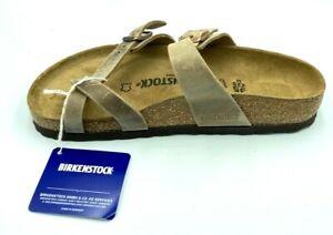 Birkenstock Mayari classic sandal, Tobacco Brown, 35 M EU (Women 4-4.5)