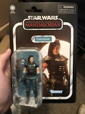 "Star Wars VC164 Vintage Collection Mandalorian CARA DUNE 3.75"" Figure In Hand"