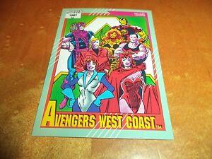 Avengers West Coast # 152 - 1991 Marvel Universe Series 2 Impel Base Tradin Card
