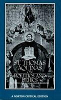 St. Thomas Aquinas on Politics and Ethics - PAUL E. SIGMUND - PAPERBACK - 1988