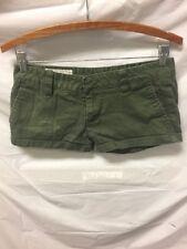 Hurley Green Mini Short Shorts Womens Sz 3