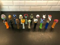 Pez Dispensers Lot (Variety of Characters)