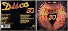 DISCO '80 CD HELEN ROSE P.LION RADIORAMA FLEXX GAUCHO ROGER LEE fuori cat. 1996