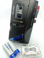 Sanyo TRC-780M Talk Book MicroCassette Voice Recorder Dictaphone Dictation Black