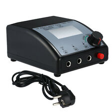 Power Supply Tattoo Digital Lcd Dual Machine Clip Foot Pedal Pro Kit New Cord