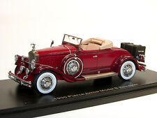 Esval models, 1930 Pierce ARROW Model B Roadster, Top Down, 1/43 highly detailed