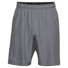 Under Armour Woven Graphic Short Pantaloncino Uomo Grigio (zinc