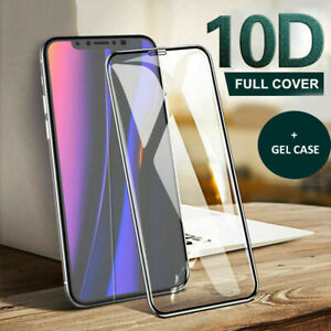 Screen Protector for iPhone 12 11,11 Pro Max 9H Curved FULL COVER TEMPERED GLASS
