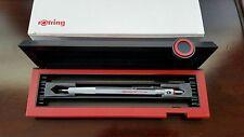 ROTRING 600 pencil 0.5 mm (silver) original black/red case, vintage 1980's