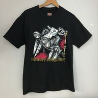 Harley Davidson Vintage 1999 T shirt Chrome Classic Kissimmee Florida M Medium