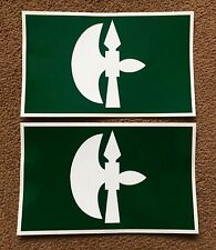 2X MILITARY ARMY LAND ROVER 102 Logistic Brigade  WOLF WIMIK DEFENDER DECALS