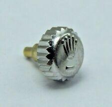 Genuine Original Rolex 24-600-0 watch crown Stainless Steel for DateJust NOS