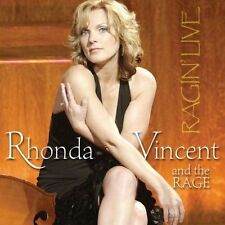 Ragin' Live by Rhonda Vincent (CD, Mar-2005, Rounder Select) QUEEN OF BLUEGRASS