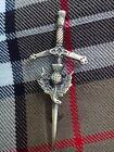 UK New Thistle Hilt Kilt Pin/Children kilt pin Scottish Thistle Antique Finish
