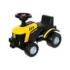 Kids JCB Tractor Ride Sit On Child Outdoor Toy Car Bike Garden Scooter Horn Play