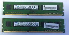 Ram/Memory Samsung 16GB 2x8GB ddr3-1600 M378B1G73QH0-CK0 PC3-12800 DIMM PC CL11