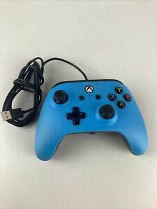 Power A Wired Controller For Xbox One Blue Xbox One Bb1