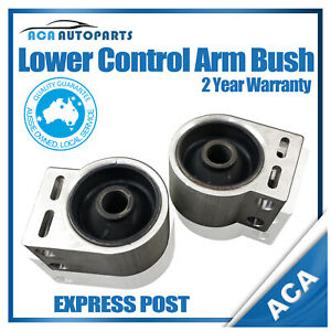 2 x For Holden Captiva Front Lower Control Arm Rear Bush Assembly 06-on