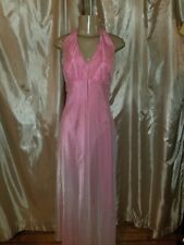 Morgan& Co Coral Pink gown dress wedding prom size med.