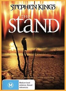 BRAND NEW Stephen King's King THE STAND Australian R4 DVD FREE POSTAGE