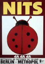 NITS - 1994 - Konzertplakat - Concert - Da Da Da - Tourposter - Berlin