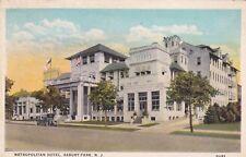 ASBURY PARK, New Jersey, PU-1925; Metropolitan Hotel