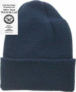 Mcguire Gear 100% Wool Watch Cap Beanie - Military Style Made in USA, (One Size)