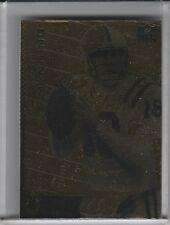2003 MERRICK MINT PEYTON MANNING COMMEMORATIVE GOLD CARD INDIANAPOLIS COLTS 1316
