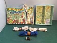 Authentic Models - Learn the Ropes Kit - 16 Knots to Know - Never Used - P2475