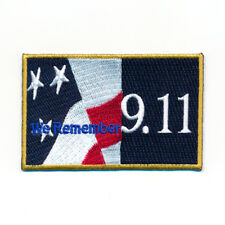 80 x 50 mm - USA We Remember 9.11 - World Trade Center Aufnäher Aufbügler 1073 X