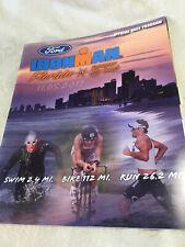 2011 Ironman Florida Panama City Beach Official Race Program with poster
