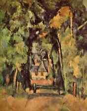 A4 photo Cézanne Paul 1839 1906 Cézanne 1953 route à Chantilly imprimé Poster