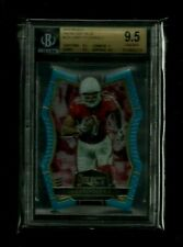 Larry Fitzgerald 2016 Select LIGHT BLUE PRIZM REFRACTOR #/125! BGS 9.5 Cardinals