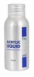 THE EDGE Nail Acrylic Liquid 50ml Create False Nails Tips Extensions Monomer