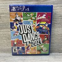 Just Dance 2021 Sony PlayStation 4 PS4 Game Factory Sealed New Free Shipping