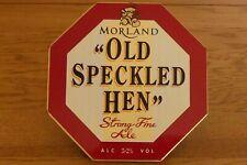 Moorland Old Speckled Hen Metal Beer Tap Sign