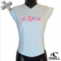 O'Neill Board GIRLIES' fleur col V T-Shirt'T-shirt fille bleu âge 14 ans