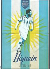 MOTD-POSTER 2013/14-ARGENTINA & NAPOLI-REAL MADRID-RIVER PLATE-GONZALO HIGUAIN