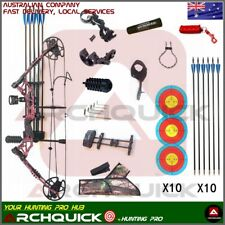 New Compound Bow Arrow Kit 20-60lbs Archery Bow Hunting Target Shooting R/L Hand