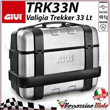 VALIGIA LATERALE GIVI TRK33N TREKKER IN ALLUMINIO MONOKEY 33 LT UNIVERSALE MOTO