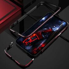 For iPhone 12 Mini Pro Max Luxury Aluminum Metal Bumper Frame Screw Case Cover