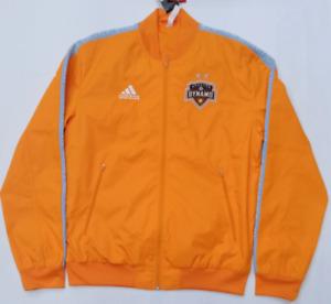 Men's Adidas MLS Houston Dynamo Anthem Jacket Orange DP5028