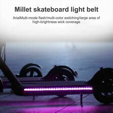 LED Light Strip For Xiaomi M365 Scooter Skateboard Multimode Flash Battery Power