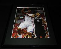 Chris Paul Framed 11x14 Photo Display Clippers vs Spurs