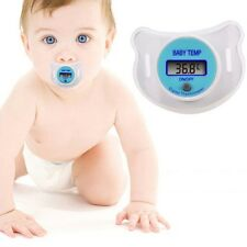 2 units Baby Infants Lcd Thermometer Digital Mouth Nipple Pacifier