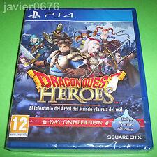DRAGON QUEST HEROES NUEVO Y PRECINTADO PAL ESPAÑA PLAYSTATION 4
