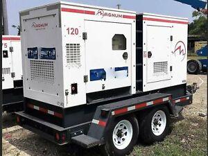 120 kW Magnum Power Mobile Diesel Generator