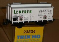 Trix 23504 Freight Wagon Beer Lederer Premium Nϋrnberg DB Epoch 4 neuwertig